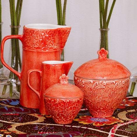 陶器製花器