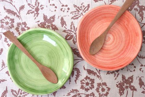 陶器製小皿
