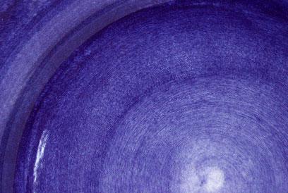 ブルー色の食器(大皿)