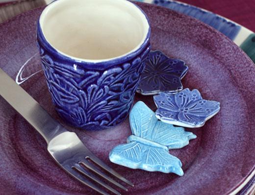 陶器製箸置き