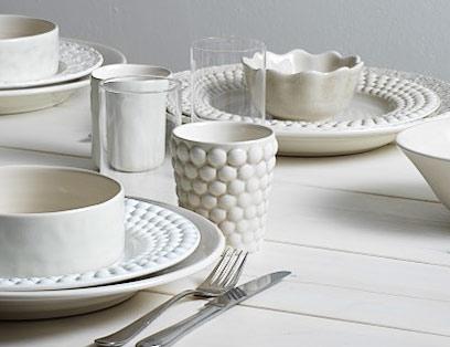 陶器のマグカップ