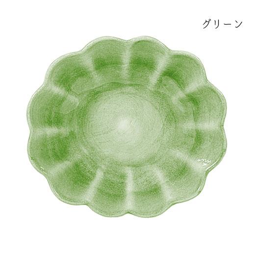 オイスターボウル(楕円深皿)グリーン