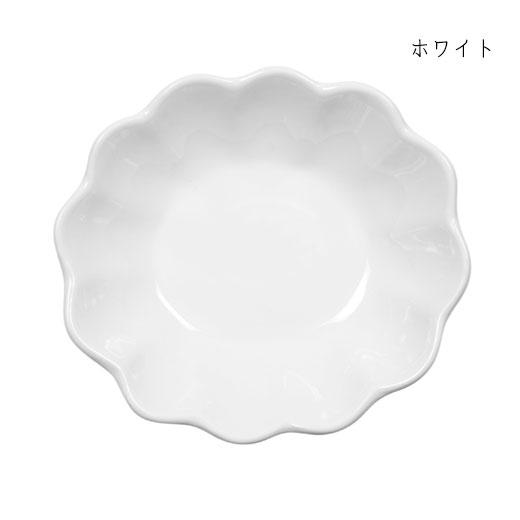 オイスターボウル(楕円深皿)ホワイト
