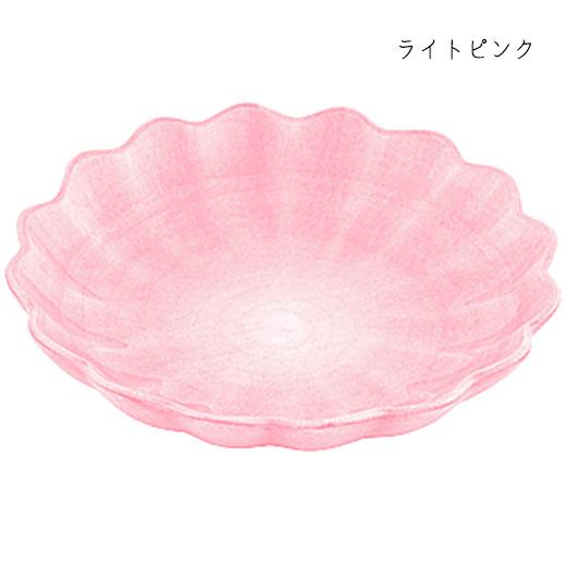 オイスターボウル(丸深皿) 31cmライトピンク