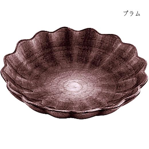 オイスターボウル(丸深皿) 31cmプラム