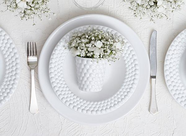 北欧スウェーデンのおしゃれな白い食器