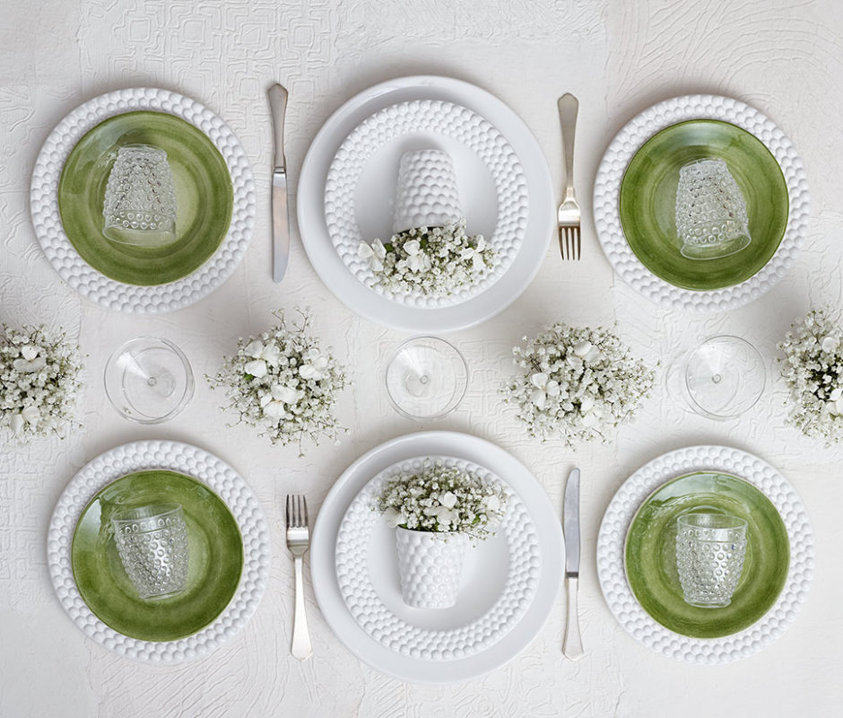 スウェーデン 洋食器ブランドMATEUSのテーブルセッティング