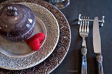 マテュースの食器でバレンタイン