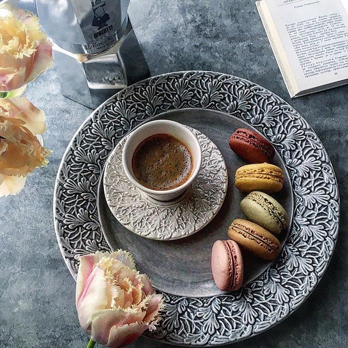マテュースの食器でおうちカフェ
