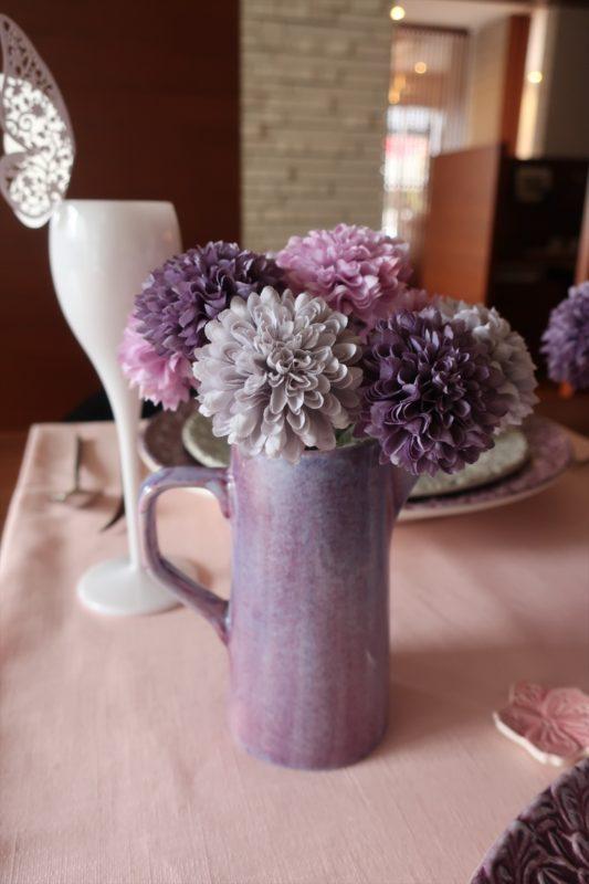 マテュースの食器で春のテーブルコーディネート!