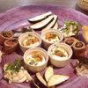 Les Picolosレ・ピコロ様のお料理と食器