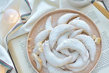 クリスマスの伝統菓子「キッフェルン」と新色シナモンのMSYプレート20cm