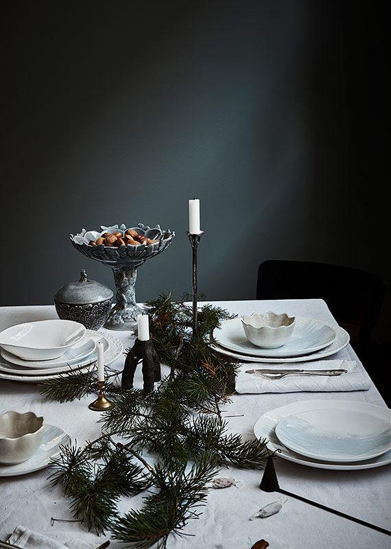 クリスマスパーティー テーブルセッティング