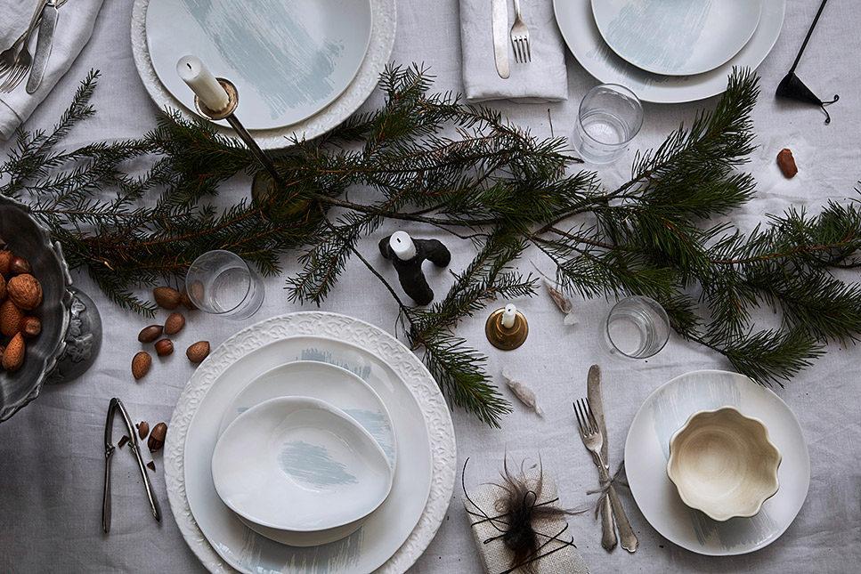 クリスマスパーティー テーブルコーディネート