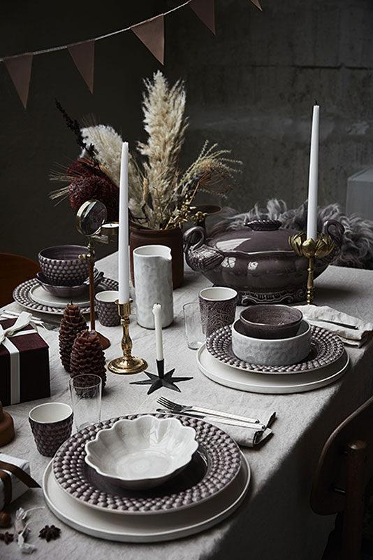 秋冬テーブルコーディネート
