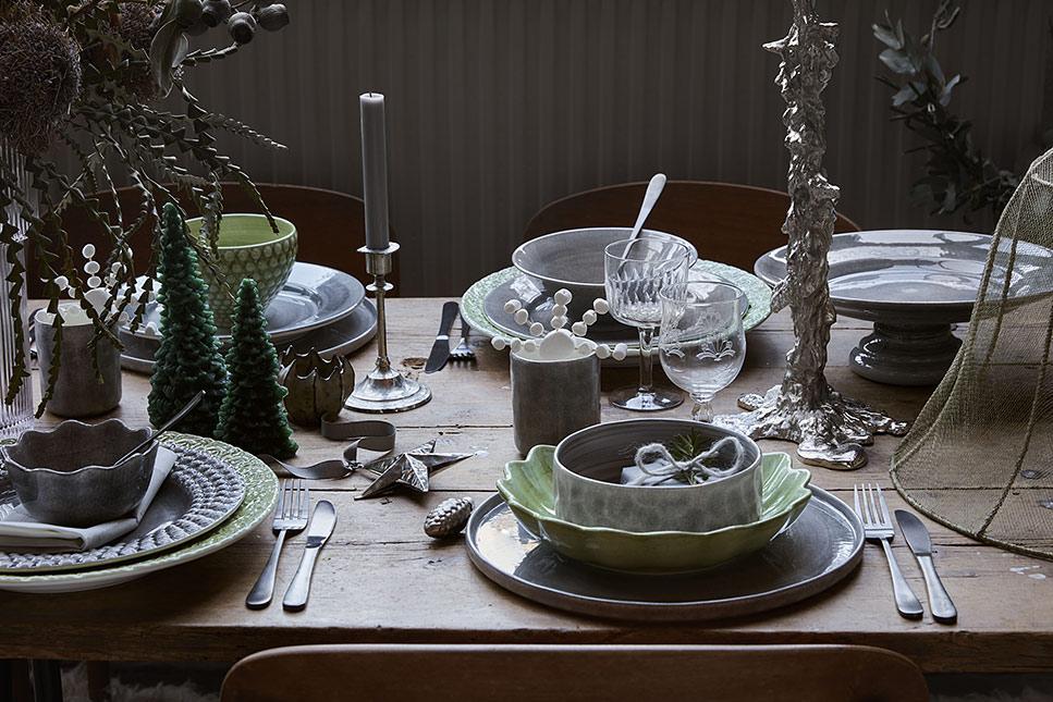 クリスマスのテーブルコーディネート。大人もときめくXmasディナーに。