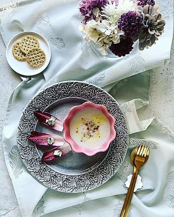 北欧食器ブランドの陶器製スープボウル