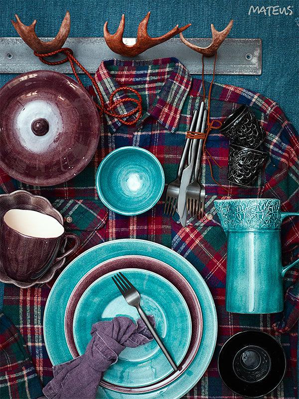 スウェーデン食器 テーブルセッティング