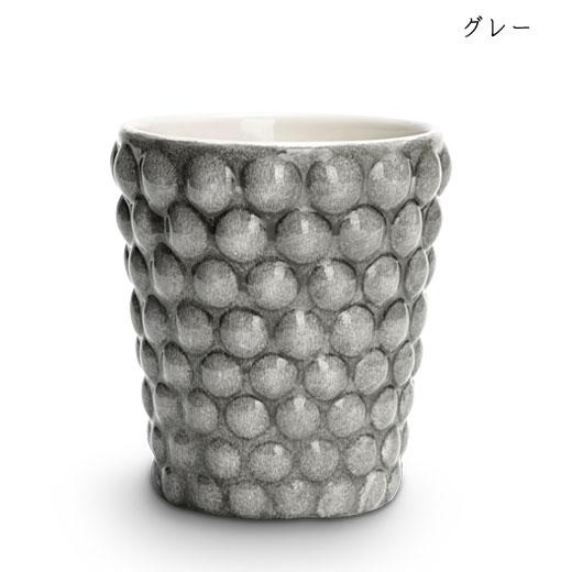 バブルス ミディアムカップ H10cmグレー