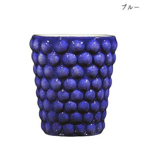 バブルス ミディアムカップ H10cmブルー