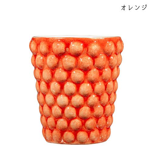 バブルス ミディアムカップ H10cmオレンジ