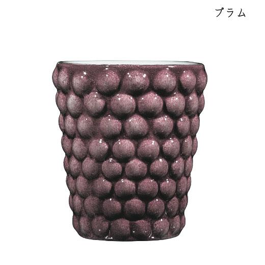 バブルス ミディアムカップ H10cmプラム