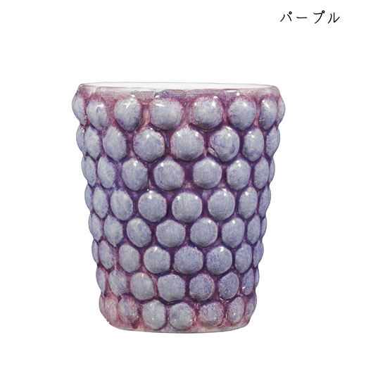 バブルス ミディアムカップ H10cmパープル