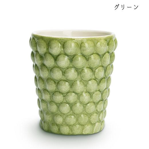バブルス ミディアムカップ H10cmグリーン
