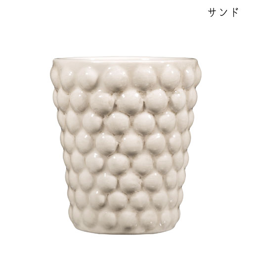 バブルス ミディアムカップ H10cmサンド