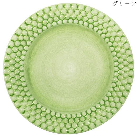 バブルス ラウンドプレート 28cmグリーン