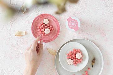 かわいい北欧の小皿を日本の和食器のように。