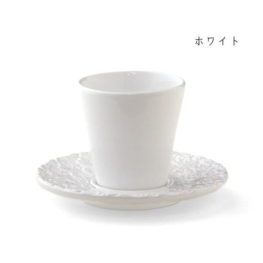 デミタスコーヒーカップ&ソーサー 白