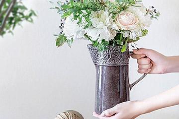 生けやすいおしゃれな花瓶
