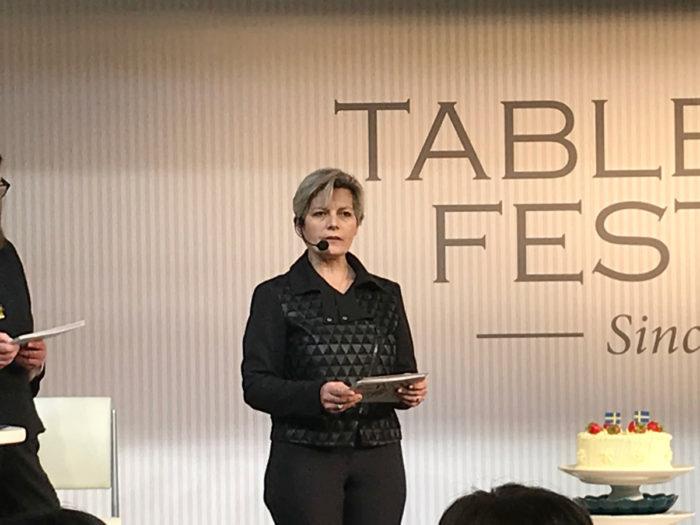 MATEUSトークショー テーブルウェアフェスティバル
