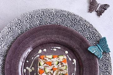 マテュースの食器を使ったインスタ映えする料理写真