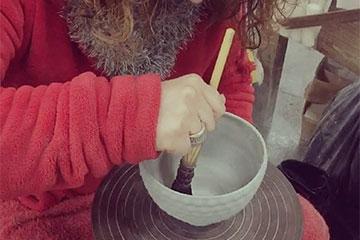 陶器製食器のボウル製作動画