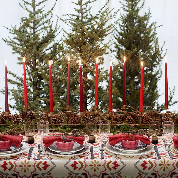 おしゃれな食器でクリスマス