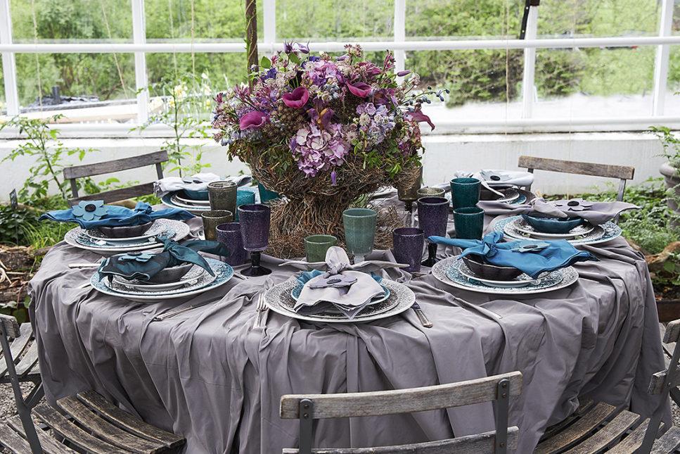 マテュース陶器テーブルコーティーネート