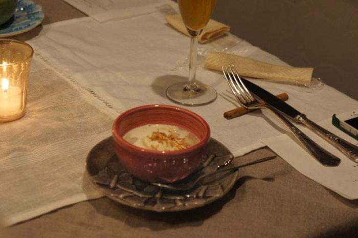 MATEUSのコーディネートで楽しむ『栗のデザートコース』