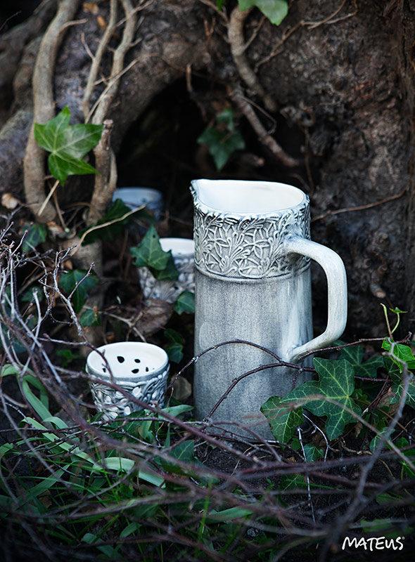 テーブルセッティング 陶器製食器