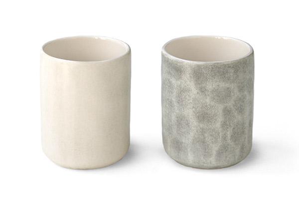 MSYコーヒーカップ 色と凹凸の比較