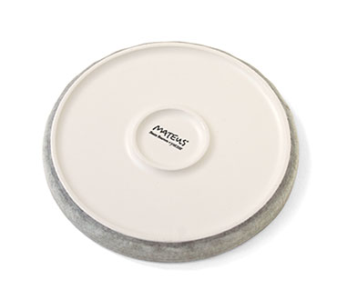 陶器の小皿 裏
