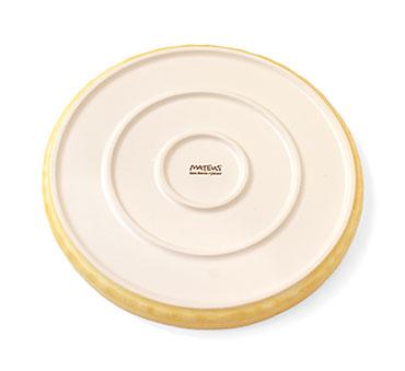 陶器製丸皿 裏