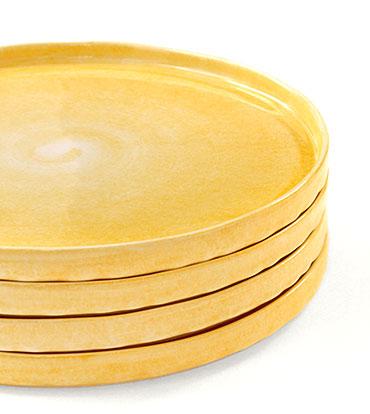 パン皿 ケーキ皿などに。スタッキング