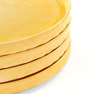陶器製平皿 スタッキング