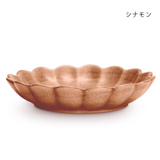 オイスターボウル(丸深皿) 24cmシナモン
