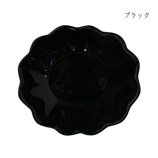 オイスターボウル(楕円深皿)ブラック