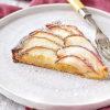 りんごの焼き菓子が似合うお皿