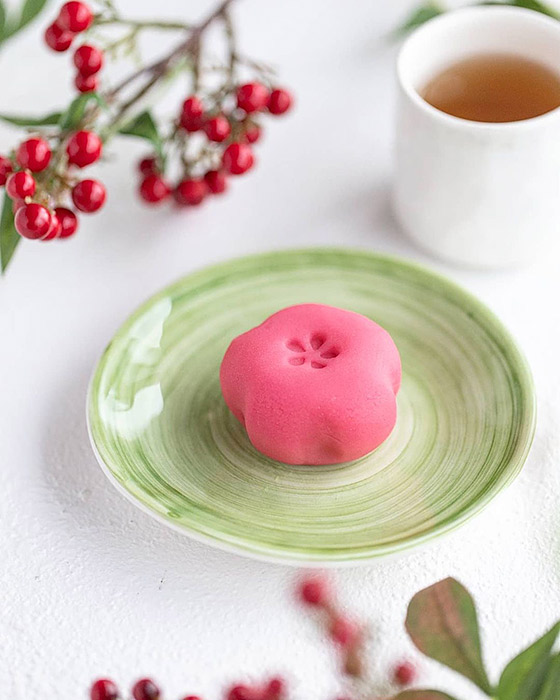 陶器製菓子皿