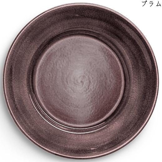 ラウンドプレート(大皿) 31cmプラム
